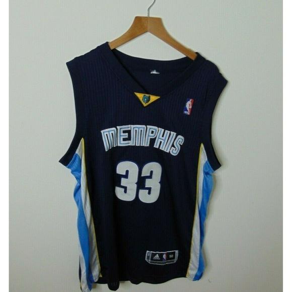 low priced 57628 0ab3d Adidas 50 Marc Gasol Memphis Grizzlies Jersey NBA
